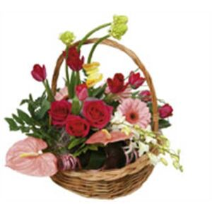 Basket Arrangement Rendezvous