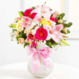 Surprise Bouquet in Pink colours